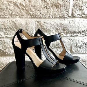 MICHAEL Michael Kors Berkeley Sandal Peep Toe Heel